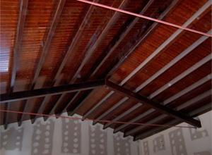Interior de casas de madera madrid acabados interiores y - Maderas hispania ...