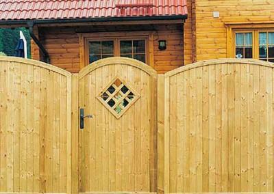 Panel Dresden puerta