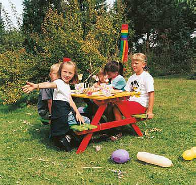 Mesa pic-nic niños