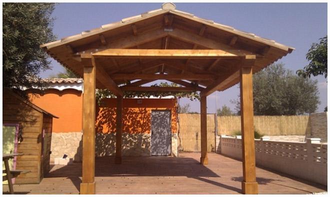 Pergolas de madera valencia amazing pergolas de maderas adosadas madrid pergolas de maderas - Pergolas de madera en sevilla ...
