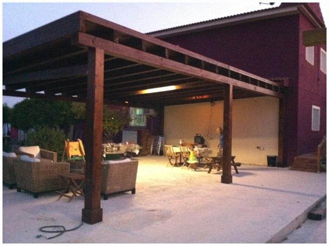 Pergola garaje materiales de construcci n para la reparaci n - Pergola para coche ...